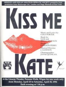 1994 - Kiss Me Kate